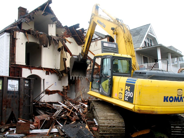 Demolition of Existing Virginia Maryland DC