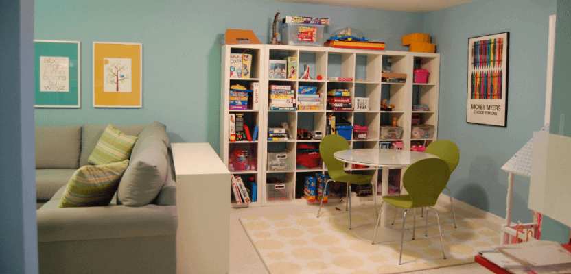 Basement Remodeling for Kids