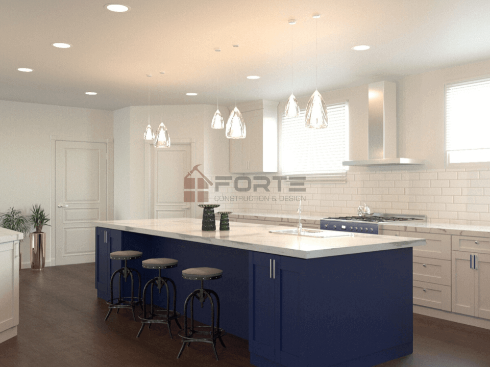 3D Modern Kitchen Design