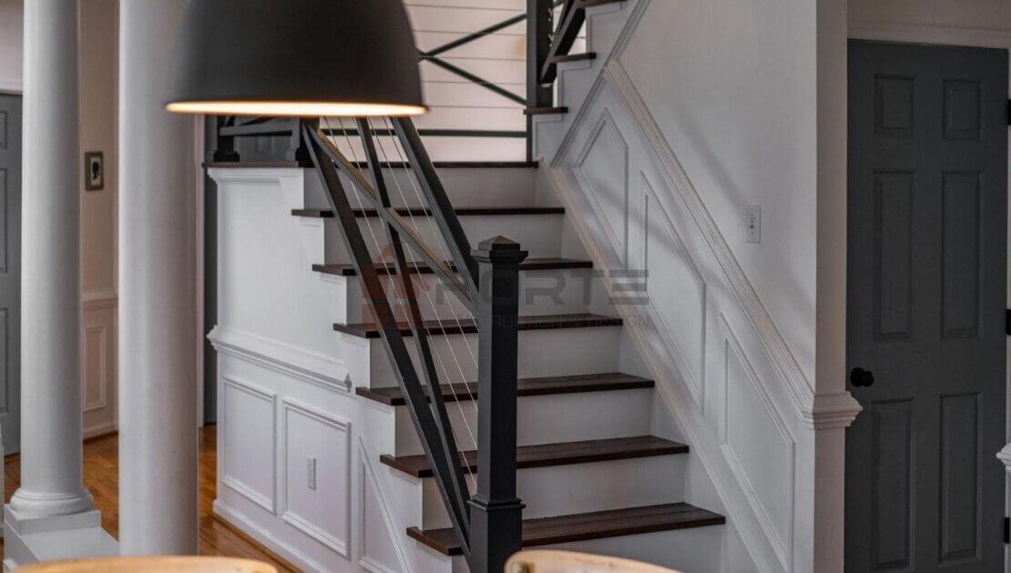 Foyer Area and Stairway Remodeling in Spotsylvania VA