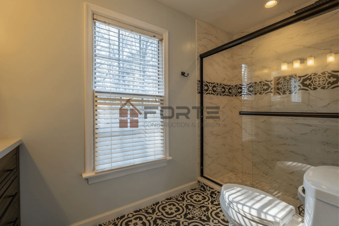 Three Bathrooms and Partial Kitchen Remodeling